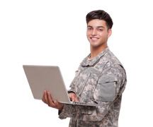 Veterans Plugging Into Online Job Searching